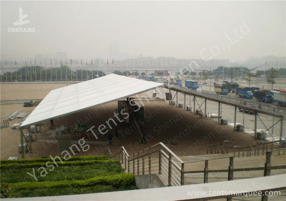 Porcellana Large Square 30X40M PVC Fabric Waterproof Marquee Tent , Outdoor Marquee Hire fabbrica